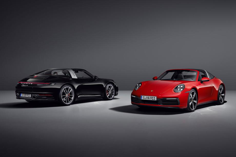 Porsche chính thức giới thiệu 911 Targa