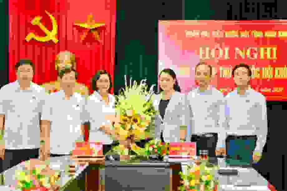 Tân Bí thư Ninh Bình được bầu làm Trưởng Đoàn ĐBQH tỉnh
