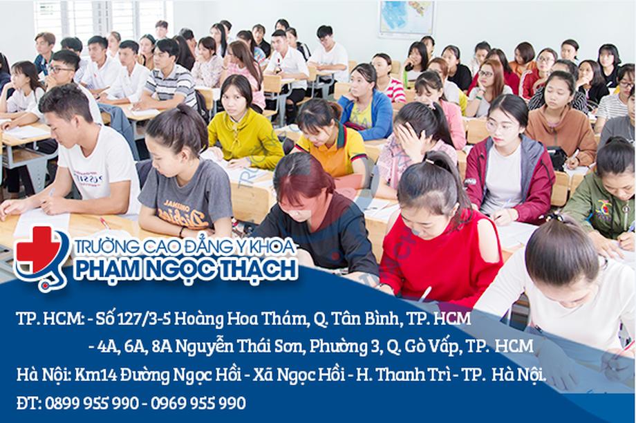 Trường Cao đẳng Y khoa Phạm Ngọc Thạch miễn giảm 100% học phí cho học sinh đăng ký xét tuyển trong năm 2020