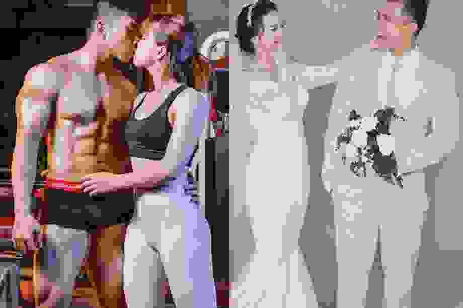 """""""Nguyên tắc ngầm"""" giúp cặp đôi mê gym ươm mầm tình yêu"""
