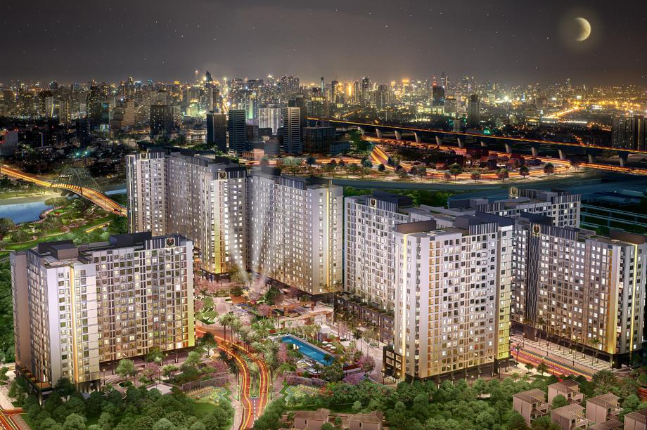 Khu căn hộ - sự lựa chọn hợp thời của cư dân thành thị