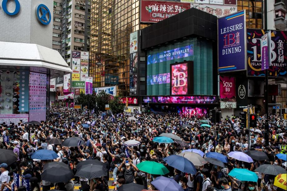 """Hong Kong cảnh báo """"con dao hai lưỡi"""" nếu Mỹ hủy """"vị thế đặc biệt"""""""
