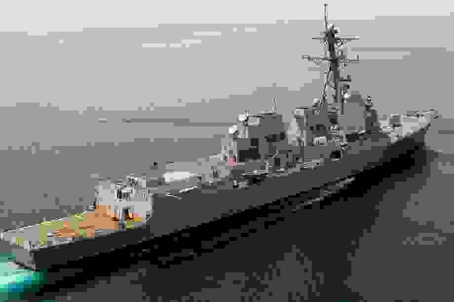 """Tàu chiến Mỹ áp sát Hoàng Sa, """"nắn gân"""" Trung Quốc"""
