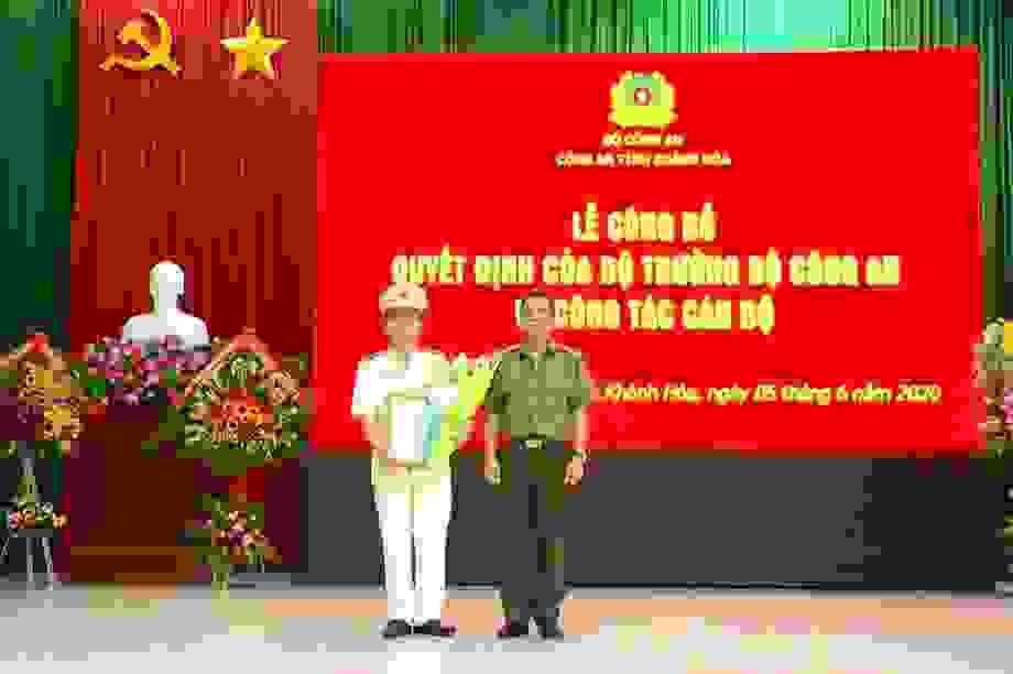 Đại tá Lê Quang Đồng làm Phó Giám đốc Công an Khánh Hòa