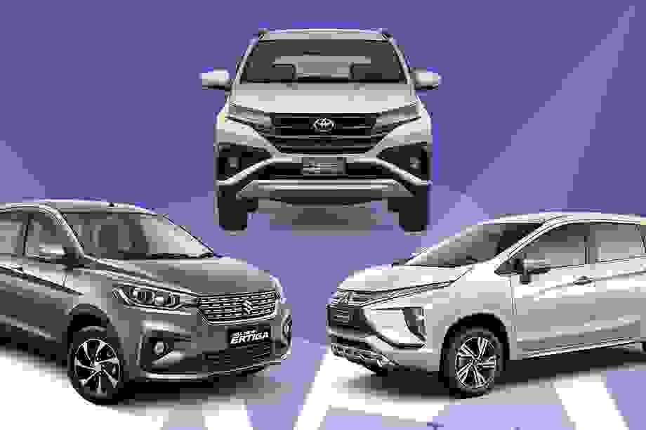 Xpander 2020 - Ertiga Sport - Toyota Rush: cuộc chiến xe 7 chỗ tại Việt Nam