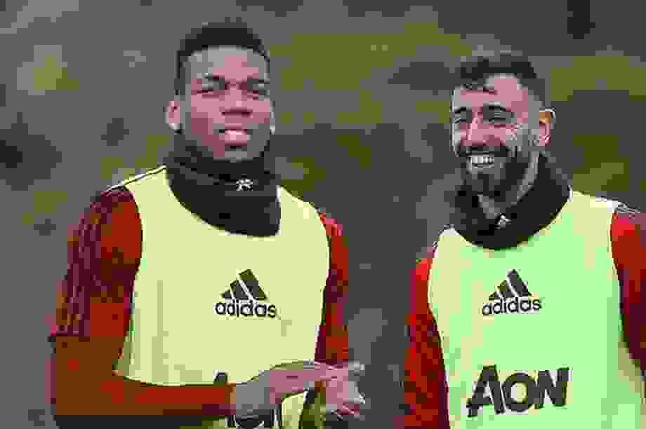 Man Utd sẽ kết hợp Paul Pogba và Bruno Fernandes như thế nào?