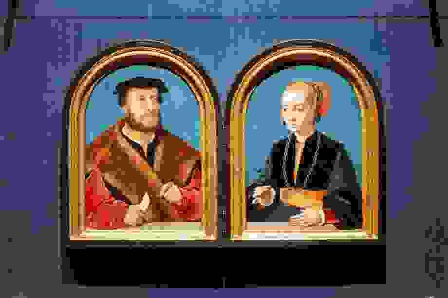 Sau 125 năm, chân dung của cặp vợ chồng quý tộc được đoàn tụ