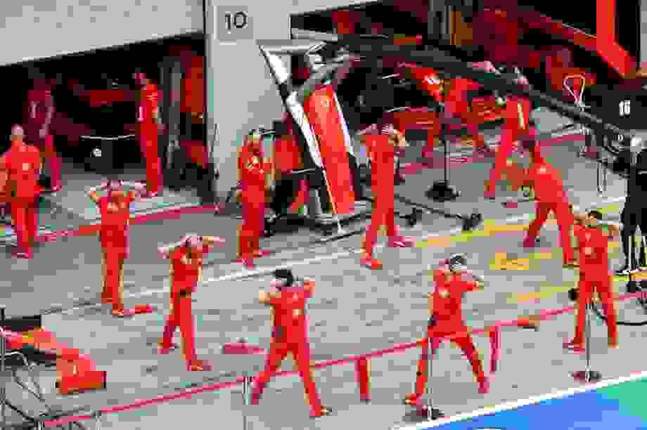 Những điều chưa từng thấy trên đường đua F1