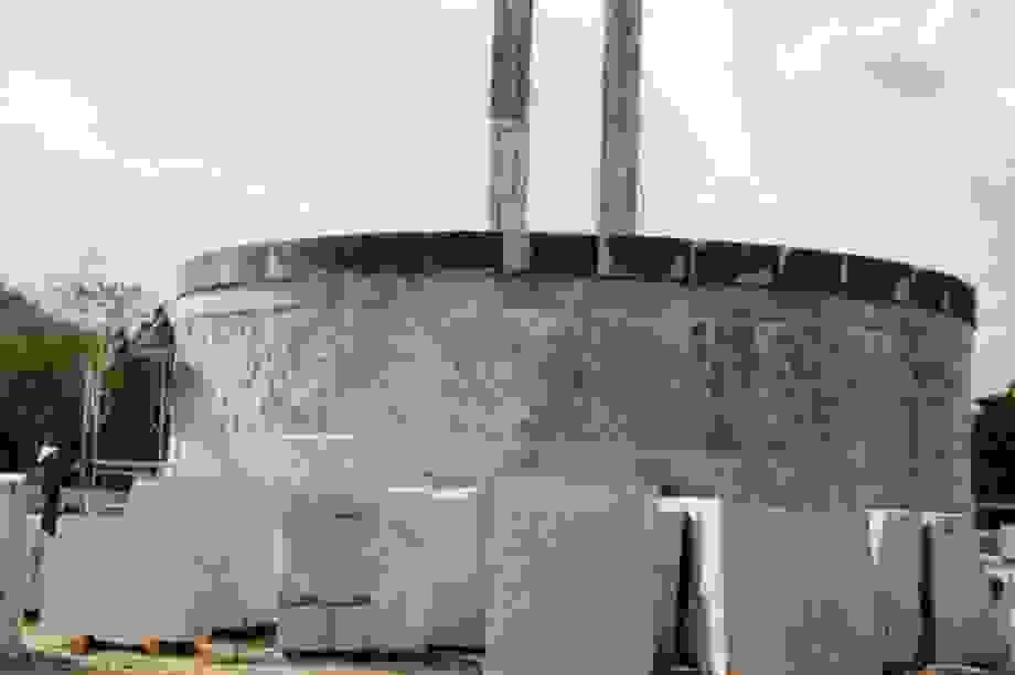Chủ tịch huyện lên tiếng vụ huyện nghèo xây tượng đài 48 tỷ