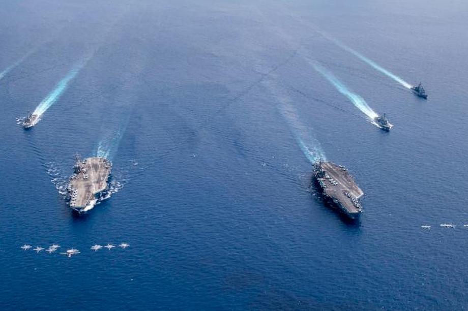 Biện pháp nghiêm ngặt bảo vệ hàng nghìn thủy thủ Mỹ tập trận trên Biển Đông