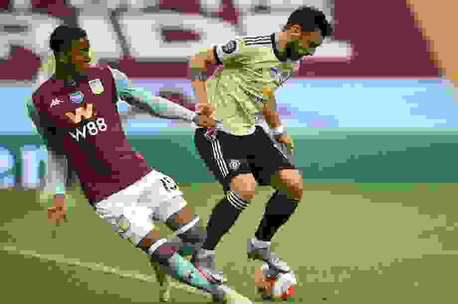 Fernandes xuất sắc nhất trận Man Utd đại thắng Aston Villa