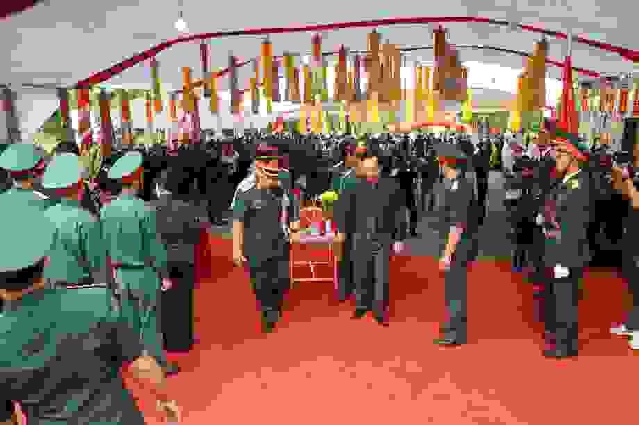 Truy điệu và an táng hài cốt các liệt sĩ tại Vị Xuyên
