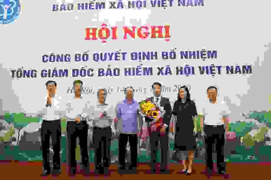 Chính thức bổ nhiệm Tổng Giám đốc Bảo hiểm xã hội Việt Nam