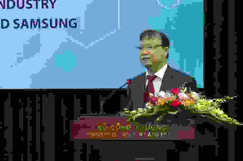 Bộ Công thương bắttay Samsung đẩy mạnh thị trường khuôn mẫu 1 tỉ USD