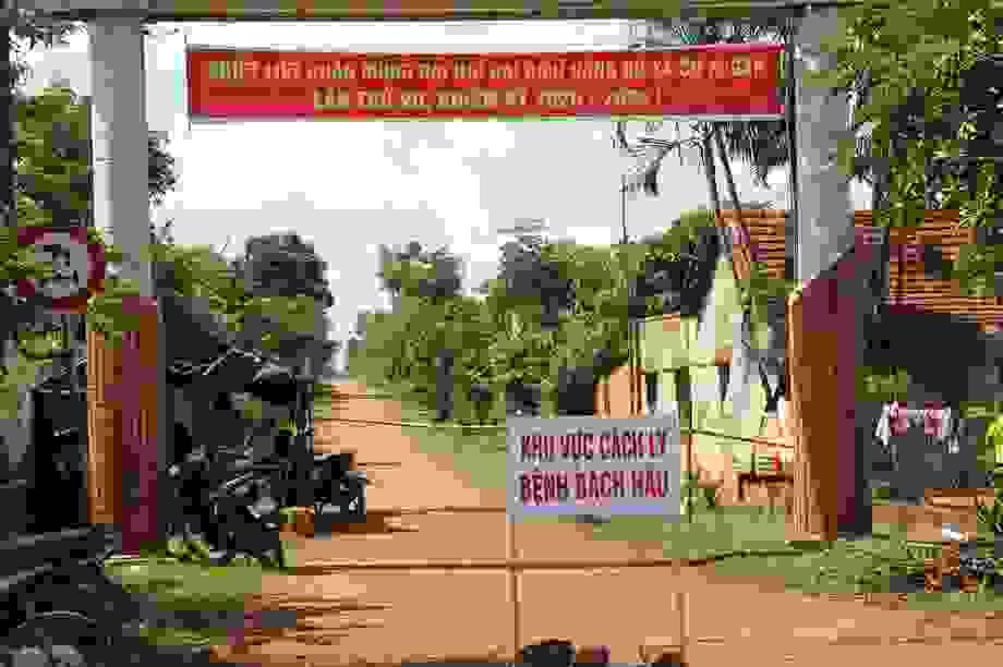 Đắk Lắk: Thêm 7 ca nhiễm bạch hầu mới, cách ly hàng trăm hộ dân