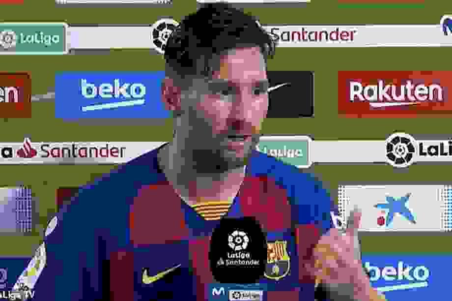 """Lionel Messi: """"Barcelona đừng mơ vô địch Champions League"""""""
