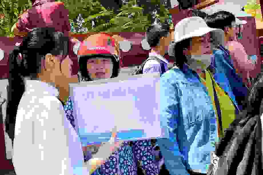 Thí sinh Thừa Thiên Huế đánh giá đề môn Văn vừa sức