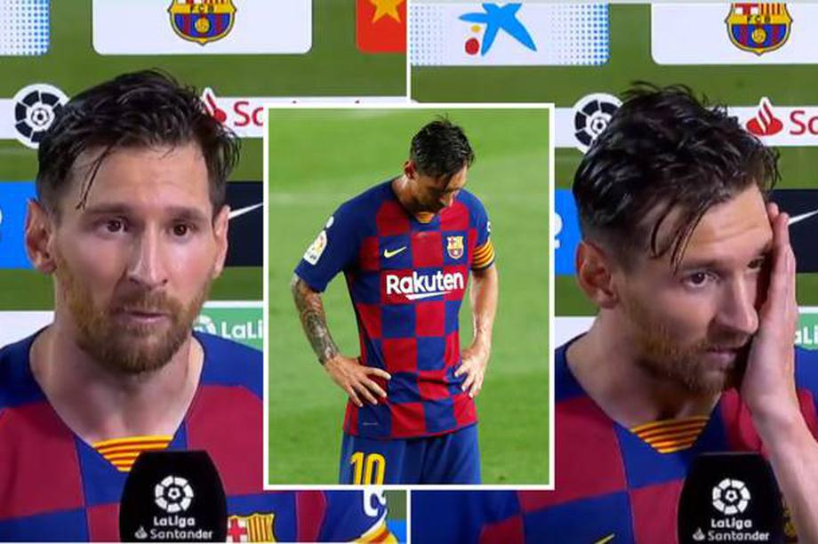 Messi mệt mỏi, chán chường và dấu chấm hết của Barcelona?