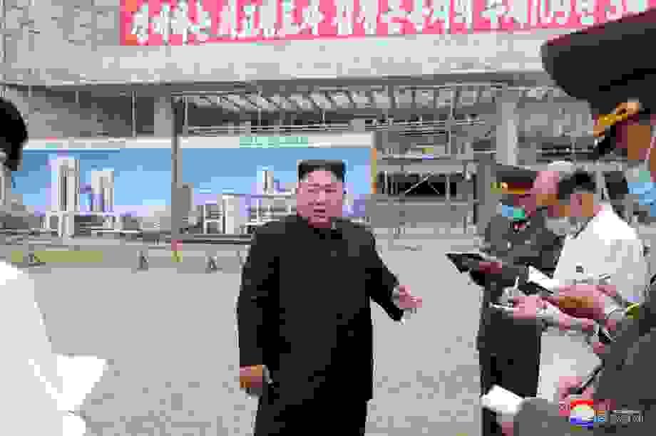 Thị sát công trình trọng điểm, ông Kim Jong-un khiển trách gay gắt cấp dưới