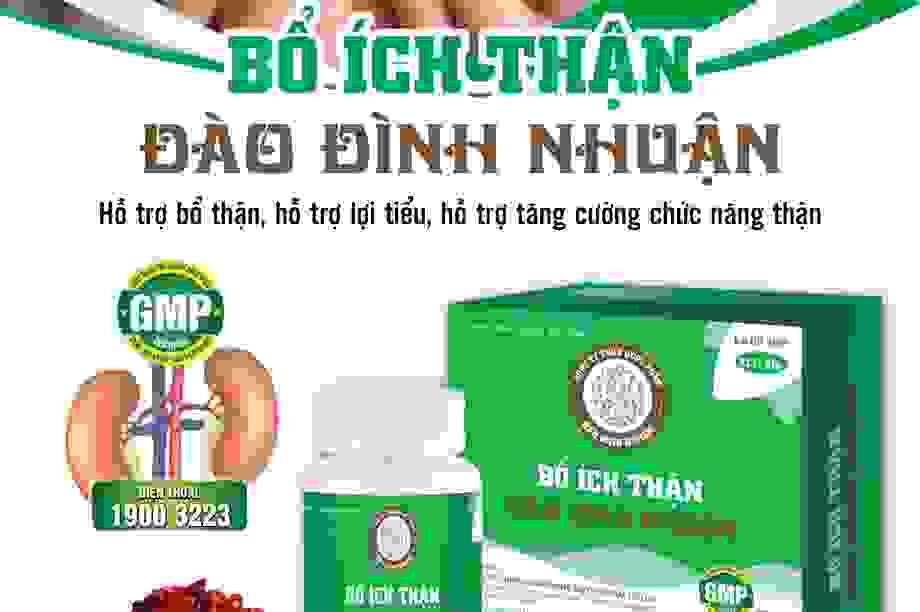 """Sử dụng sản phẩm thảo dược """"Bổ ích thận Đào Đình Nhuận"""" nên lưu ý những gì?"""