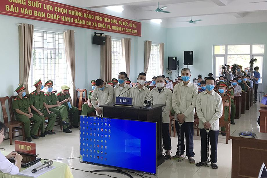 Tổ chức cho người Trung Quốc nhập cảnh trái phép, 6 bị cáo lãnh 25 năm tù