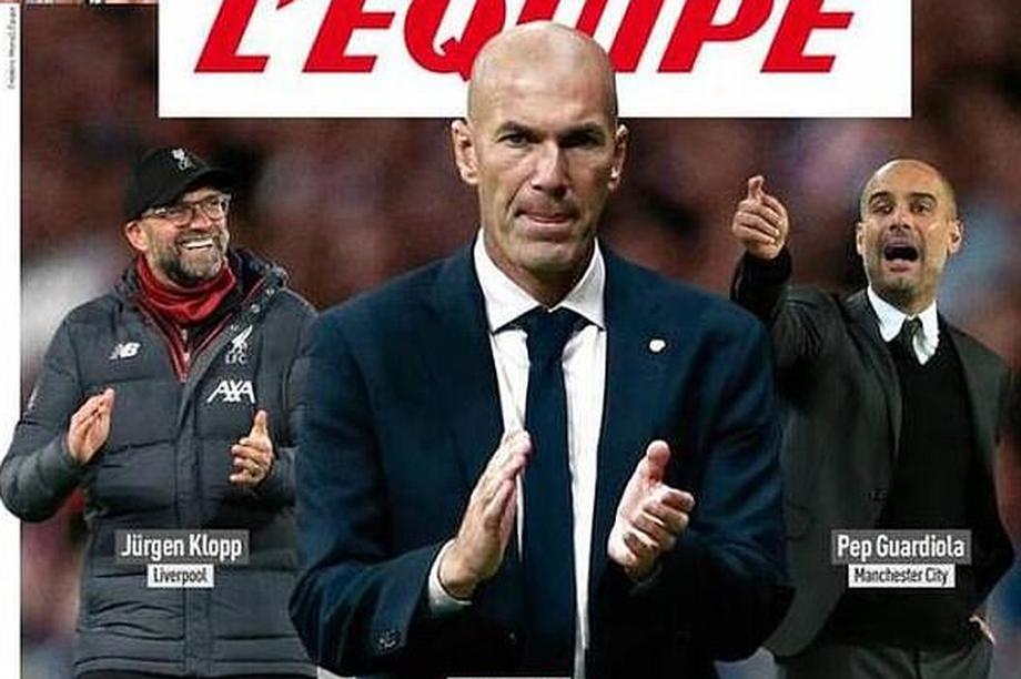 Zidane được chọn là HLV xuất sắc nhất, Mourinho bị chê bai thậm tệ