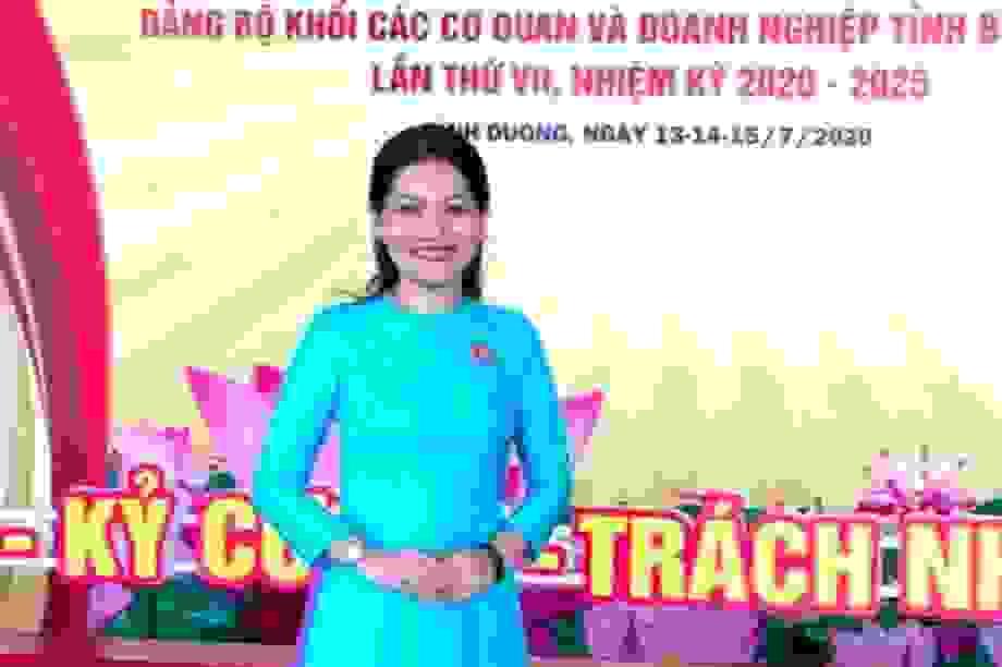 Nữ tiến sĩ 39 tuổi được bổ nhiệm làm Hiệu trưởng trường ĐH Thủ Dầu Một