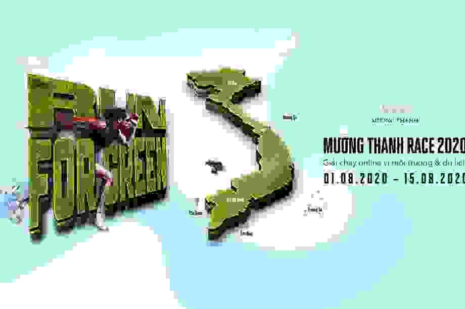 Phần thưởng siêu hấp dẫn từ Run For Green - Giải chạy online vì môi trường
