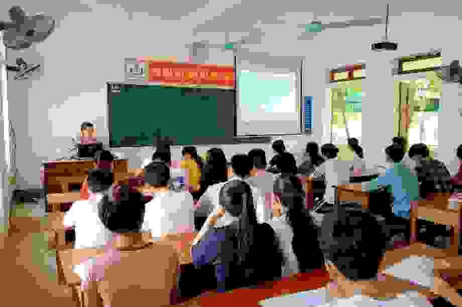Hà Tĩnh: Hơn 78,5% thí sinh đăng ký tổ hợp Khoa học xã hội