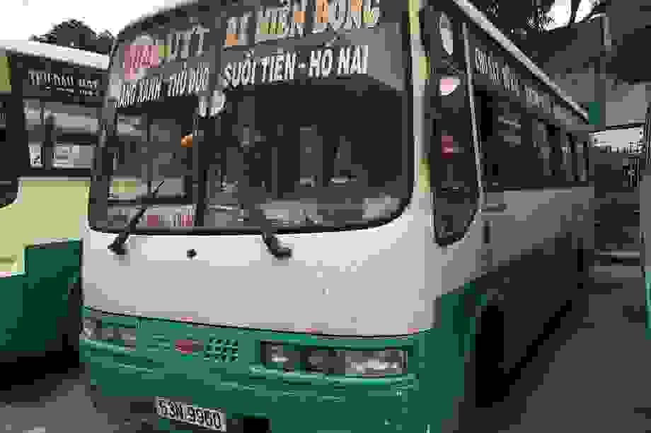 Tạm ngưng 5 tuyến buýt từ Đồng Nai đi TPHCM
