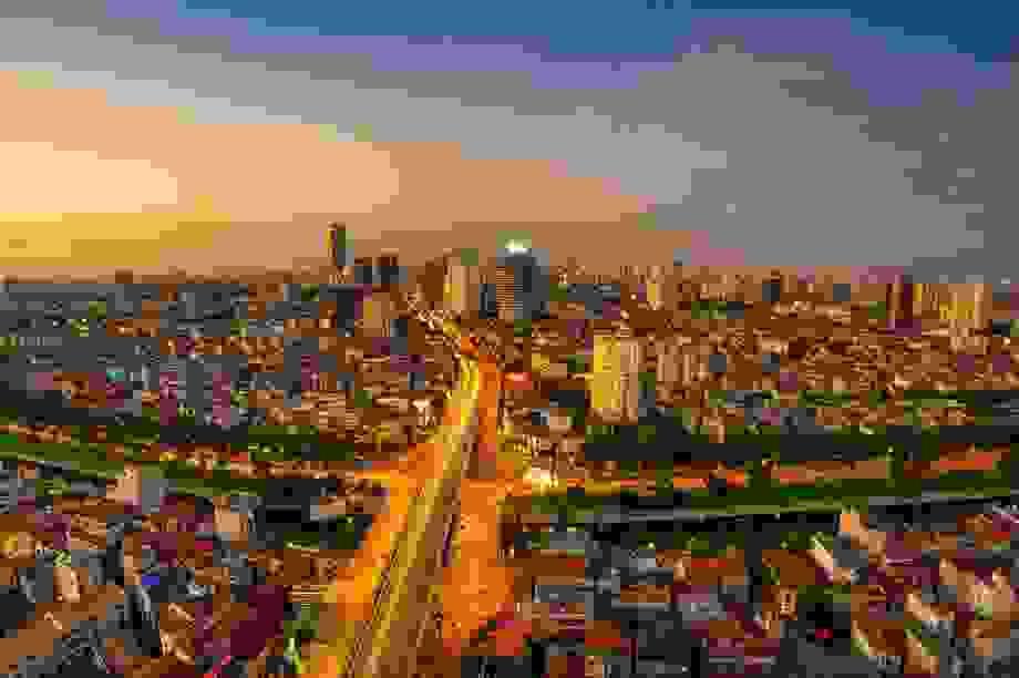 Không gian kiến trúc xanh sang trọng giữa trung tâm Hà Nội