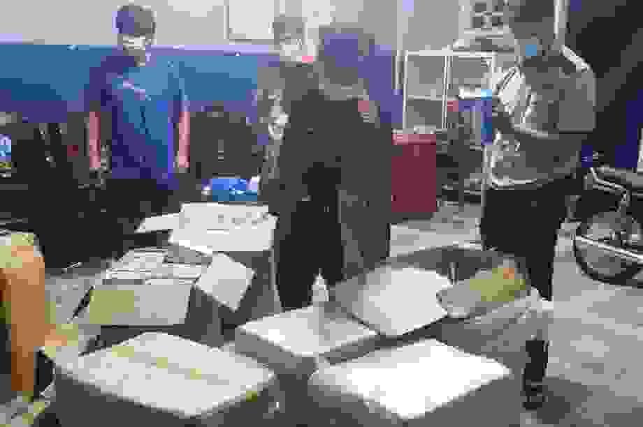 Gần 75.000 chiếc khẩu trang y tế bị thu giữ