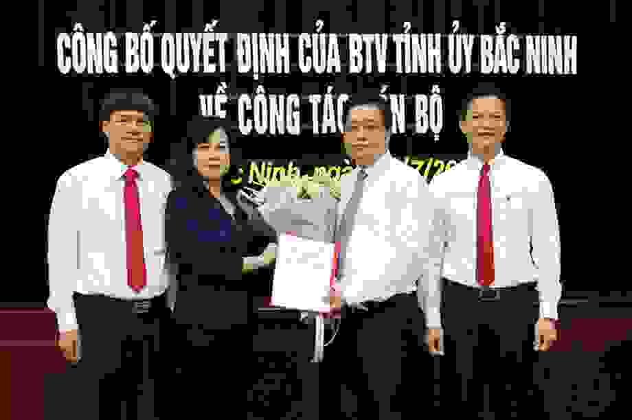 Điều Bí thư TP Bắc Ninh Nguyễn Nhân Chinh làm Phó Giám đốc Sở LĐ, TB & XH