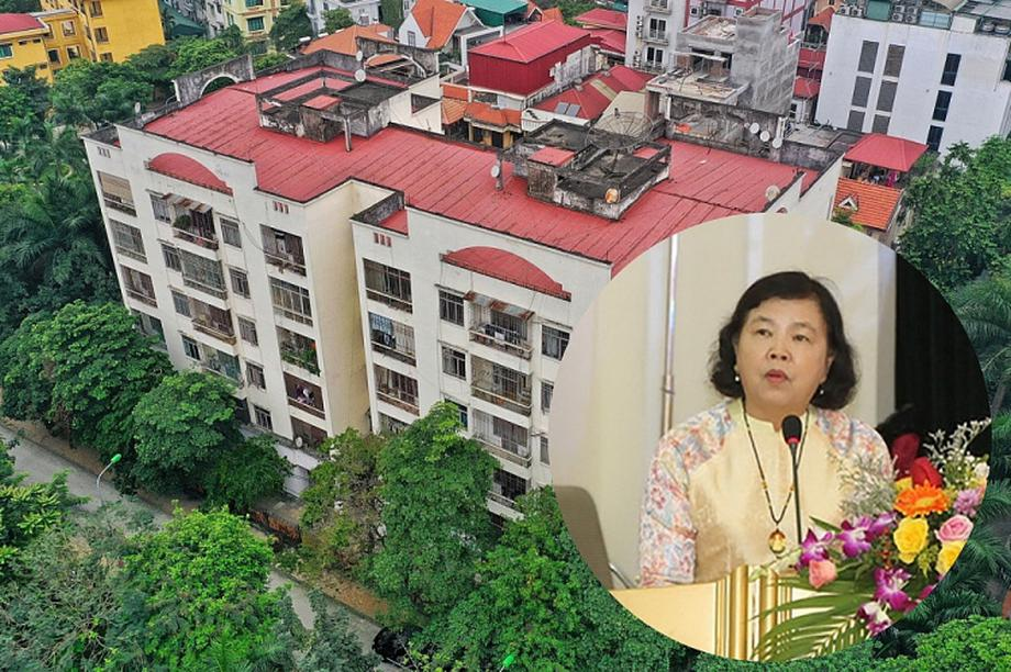 Gia đình nguyên Thứ trưởng Bộ GD-ĐT liên hệ Bộ Xây dựng trả nhà công vụ