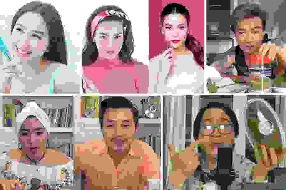Nghệ sĩ vượt qua khó khăn mùa dịchbằng bán hàng online