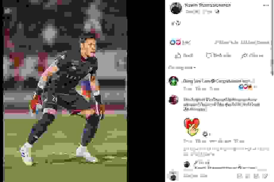 Văn Lâm chúc mừng thủ môn Thái Lan đi vào lịch sử giải Nhật Bản