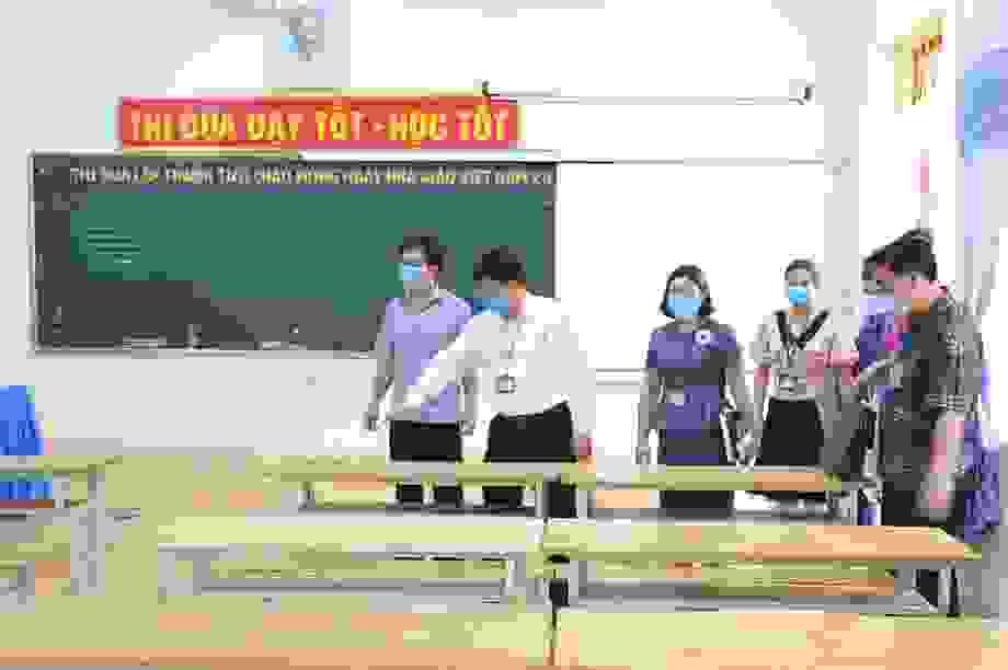 Ninh Bình: Sẵn sàng thi tốt nghiệp THPT, không có thí sinh là F0, F1, F2