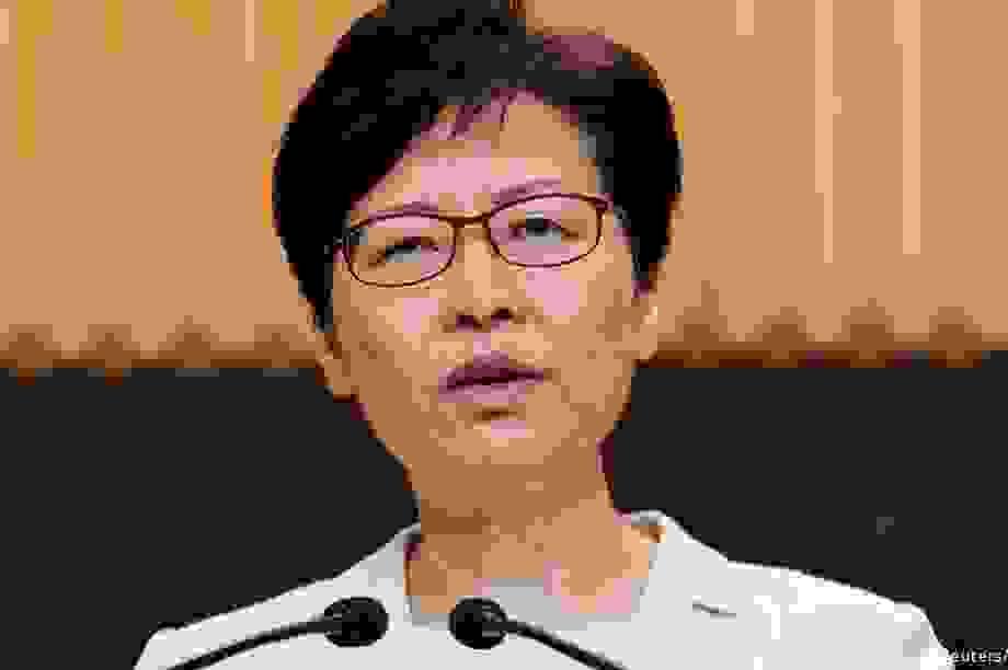 Báo Bloomberg: Mỹ sẽ trừng phạt Trưởng đặc khu hành chính Hong Kong
