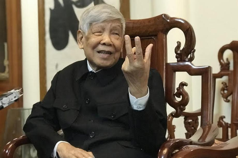Nguyên Tổng Bí thư Lê Khả Phiêu nói về chuyện nhân sự trước Đại hội Đảng