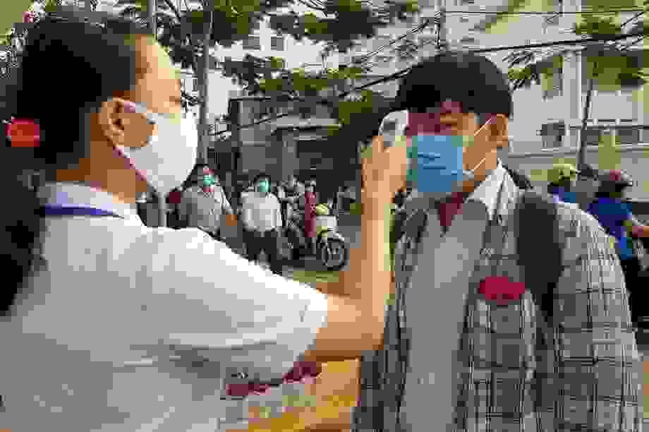 """Thí sinh Khánh Hòa: """"Bộ GD&ĐT, Bộ Y tế đã làm hết sức để bảo vệ thí sinh"""""""