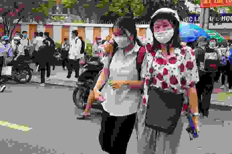 Khánh Hòa: 14 thí sinh phải chuyển sang thi đợt 2 vì liên quan dịch tễ