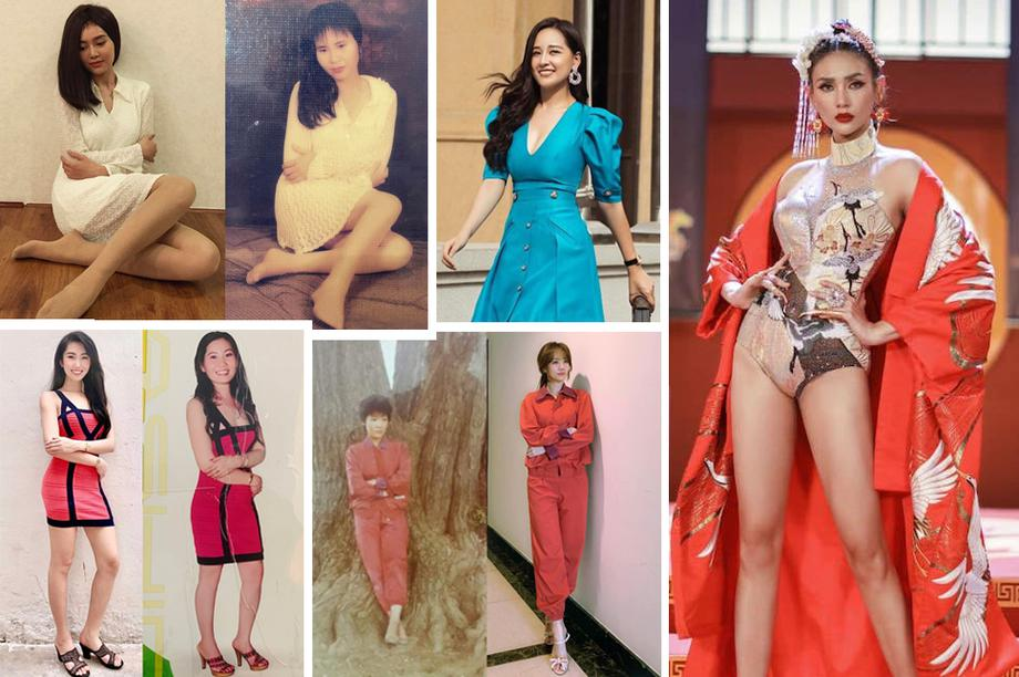 """Hari Won, Thuý Ngân, Lan Ngọc """"cosplay"""" mẹ thời trẻ"""