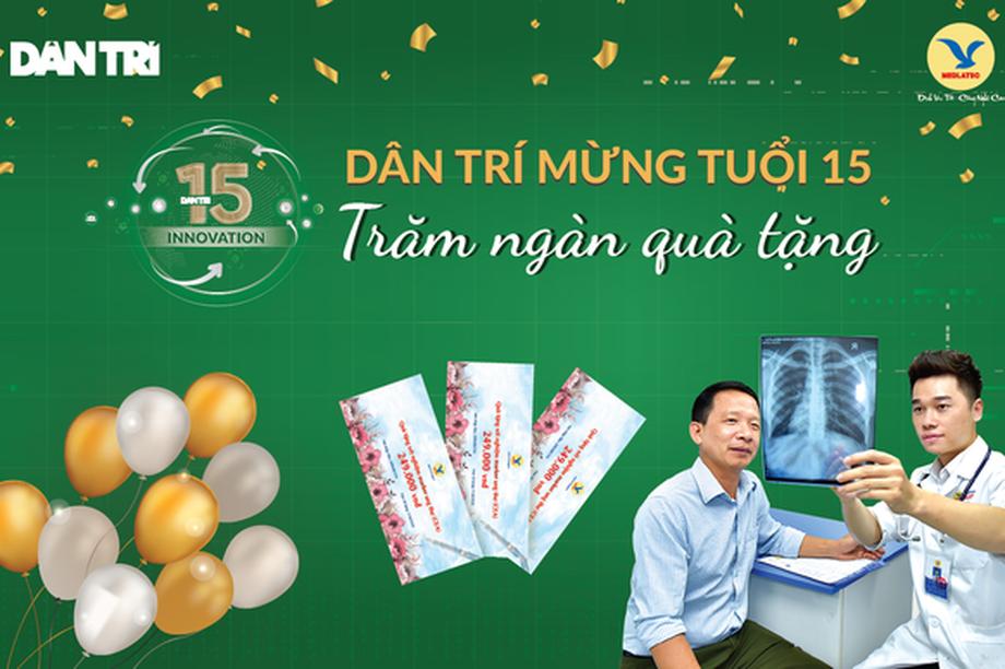 Kết quả minigame Dân Trí mừng tuổi 15: Đoán đúng trúng ngay 1.000 combo cà phê Minh Tien Coffee