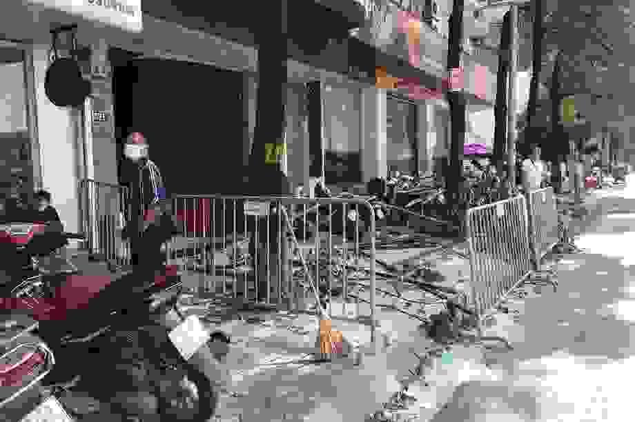 Hà Nội: Nổ lớn tại nhà hàng Nhật Bản, nghi có 3 người bị thương