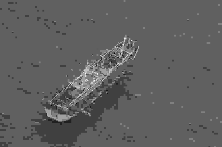 Hải quân Ecuador tăng cường giám sát đội tàu cá khổng lồ của Trung Quốc
