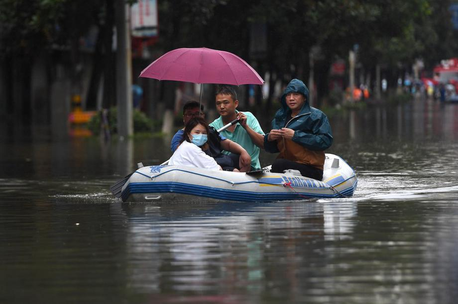 Trung Quốc đối mặt nguy cơ thiếu lương thực vì thảm họa lũ lụt