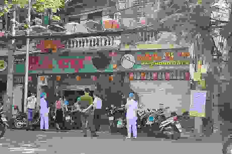 Hải Phòng: Phong tỏa quán ăn nơi bệnh nhân Covid-19 ở Đà Nẵng đã đến