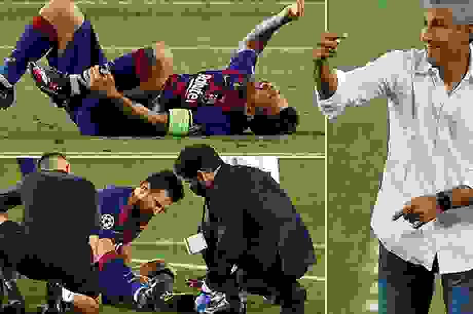 Messi có nguy cơ vắng mặt ở trận sinh tử gặp Bayern Munich