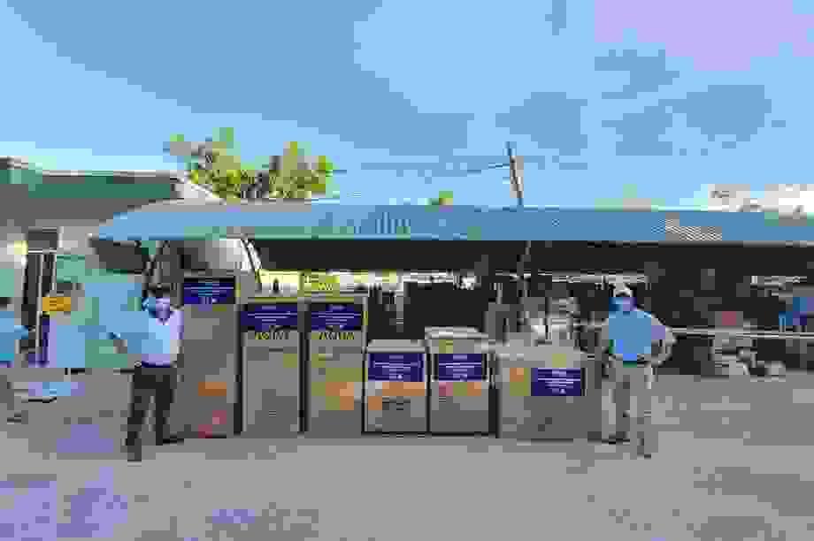 AQUA tiếp sức cho các bệnh viện tại Đà Nẵng