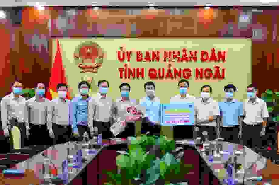 BSR tài trợ tỉnh Quảng Ngãi 2,5 tỷ đồng mua máy xét nghiệm Covid-19